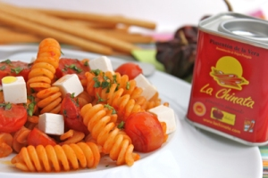 El truco en esta receta italiana está en el pimentón de La Chinata...  delicioso.